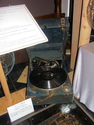 ポータブル蓄音機