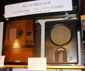展示したドイツ国民受信機
