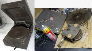 蓄音器修理