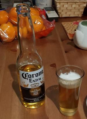 コロナで乾杯
